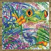 Tree Frog - Design Works Crafts Cross Stitch Kit
