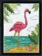 Flamingo - Design Works Crafts Cross Stitch Kit