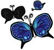 RIOLIS Magnet/Pincushion Butterfly Cross Stitch Kit