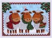 VDV Christmas Sheep Embroidery Kit