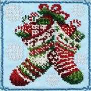 VDV Christmas Stockings Embroidery Kit