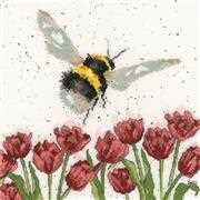 Flight of the Bumblebee - Bothy Threads Cross Stitch Kit