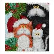 VDV Christmas Cats Embroidery Kit