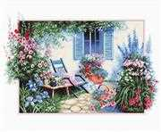 Flower Garden - Luca-S Cross Stitch Kit
