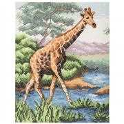 Anchor Giraffe Cross Stitch Kit
