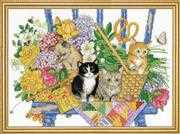 Garden Kittens - Design Works Crafts Cross Stitch Kit