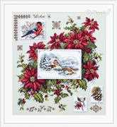 Merejka Winter Sampler Christmas Cross Stitch Kit