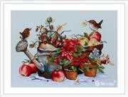 Merejka December Cross Stitch Kit
