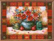 RIOLIS Still Life N. Japaridze Cross Stitch Kit