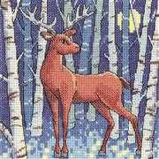 Stag - Aida - Heritage Cross Stitch Kit
