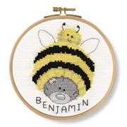 Bumble Beanie - DMC Cross Stitch Kit