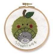 Apple Beanie - DMC Cross Stitch Kit