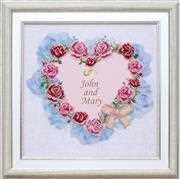 VDV Wedding Heart Wedding Sampler Embroidery Kit