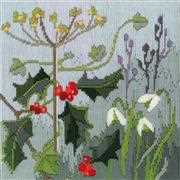 Derwentwater Designs Seasons - Winter Long Stitch Kit