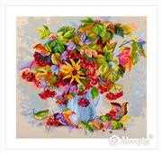 Merejka Autumn Star Cross Stitch Kit