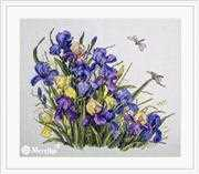 Irises - Merejka Cross Stitch Kit