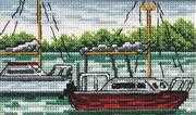 Ships - Permin Cross Stitch Kit