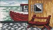 Cross stitch Permin Transport