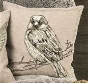 Sparrow Cushion - Permin Cross Stitch Kit