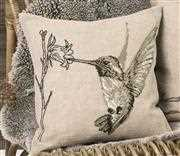 Hummingbird Cushion - Permin Cross Stitch Kit