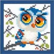 RIOLIS Scops Owl Cross Stitch Kit