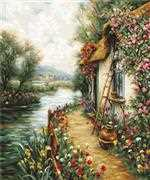 Luca-S Along the River Cross Stitch Kit
