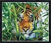 Design Works Crafts Predators Gaze Cross Stitch Kit