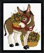 Donkey - Design Works Crafts Cross Stitch Kit