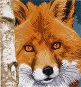 Lanarte Fox Cross Stitch Kit