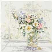 Lanarte Bouquet of Flowers Cross Stitch Kit