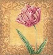 Lanarte Tulip Cross Stitch Kit