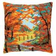 Autumn Landscape Cushion - Vervaco Cross Stitch Kit