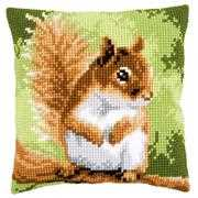 Squirrel Cushion - Vervaco Cross Stitch Kit