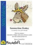 Mouseloft Summertime Donkey Cross Stitch Kit