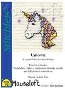 Mouseloft Unicorn Cross Stitch Kit