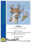 Mouseloft Llama Cross Stitch Kit