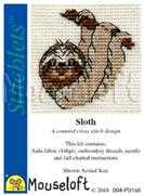 Mouseloft Sloth Cross Stitch Kit