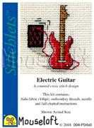 Electric Guitar - Mouseloft Cross Stitch Kit