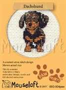 Mouseloft Dachshund Cross Stitch Kit