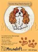 Mouseloft Cavalier King Charles Spaniel Cross Stitch Kit