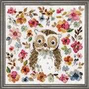 Owl - Design Works Crafts Cross Stitch Kit