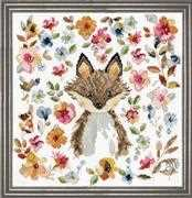 Fox - Design Works Crafts Cross Stitch Kit