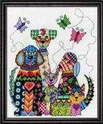 Patchwork Dogs - Design Works Crafts Cross Stitch Kit
