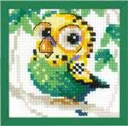 RIOLIS Parakeet Cross Stitch Kit