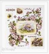 Merejka Spring Sampler Cross Stitch Kit