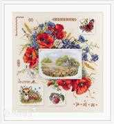 Summer Sampler - Merejka Cross Stitch Kit