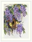 Wisteria - Merejka Cross Stitch Kit