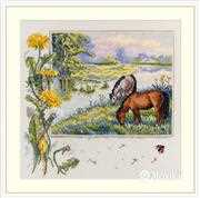 Merejka Horses Cross Stitch Kit