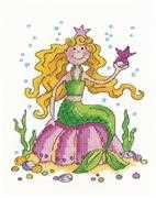 Mermaid - Heritage Cross Stitch Kit
