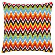 Vervaco ZigZag Lines Cushion Long Stitch Kit